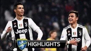 Juventus vs Frosinone 3 - 0 | Serie A All Goals & Highlights | 15-02-2019